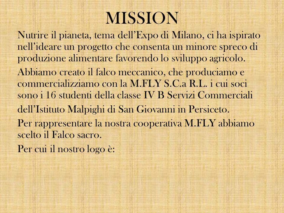 MISSION Nutrire il pianeta, tema dell'Expo di Milano, ci ha ispirato nell'ideare un progetto che consenta un minore spreco di produzione alimentare favorendo lo sviluppo agricolo.