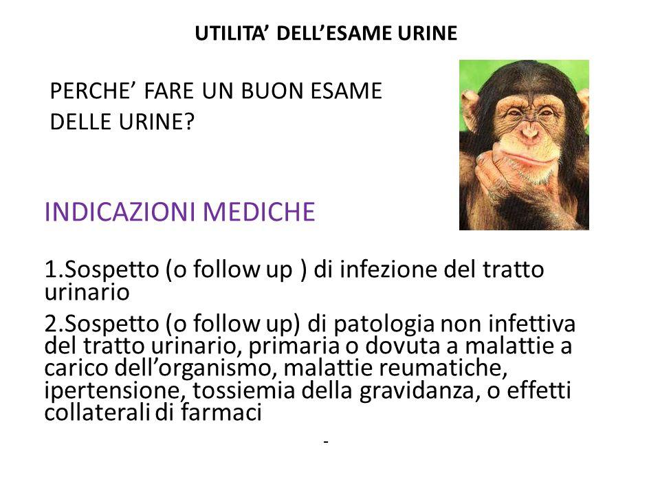 3.Sospetto (o follow up) di malattia renale 4.
