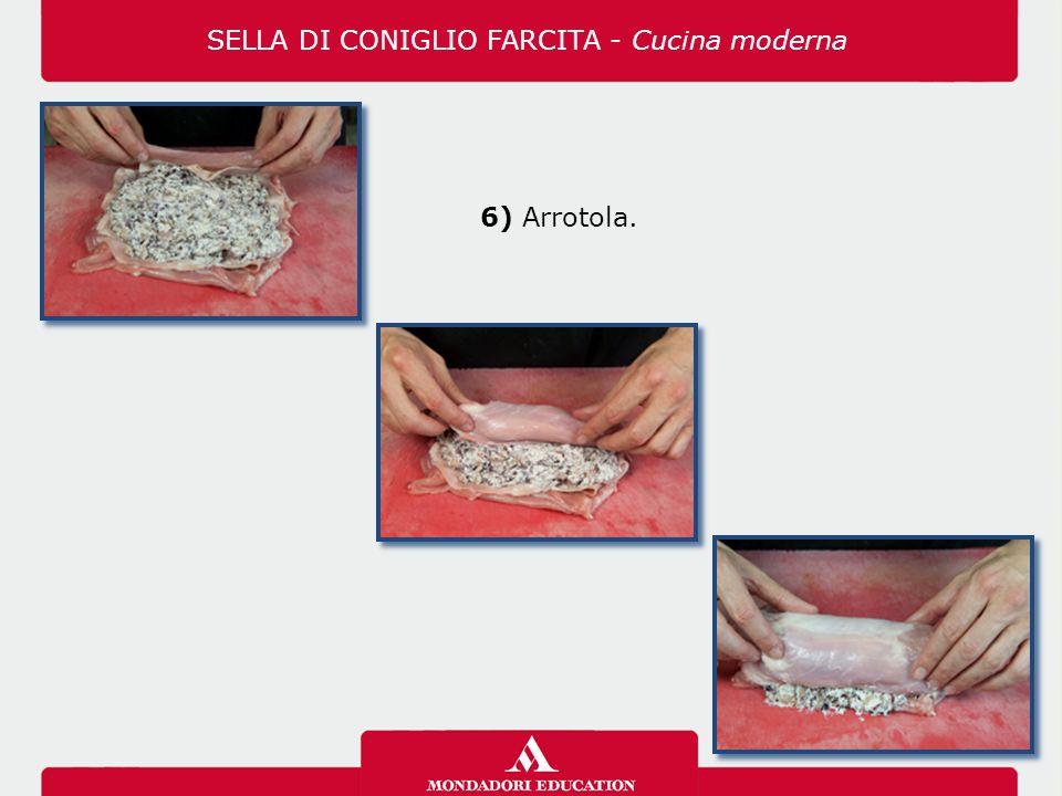 6) Arrotola. SELLA DI CONIGLIO FARCITA - Cucina moderna