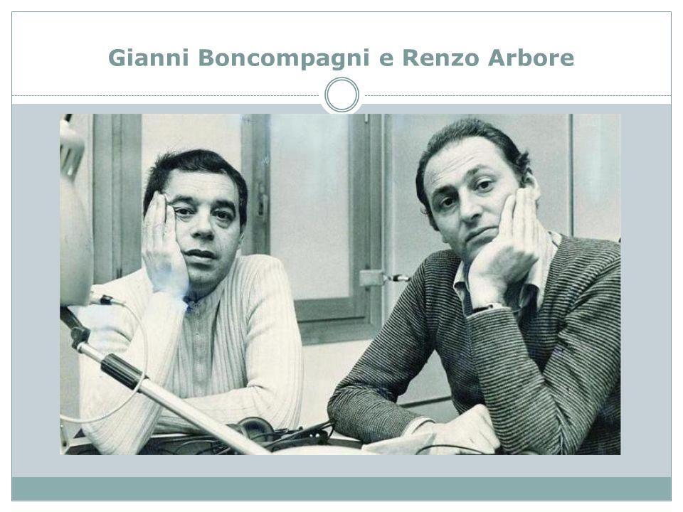 Gianni Boncompagni e Renzo Arbore