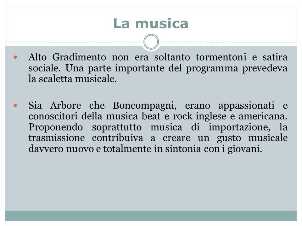 La musica Alto Gradimento non era soltanto tormentoni e satira sociale.