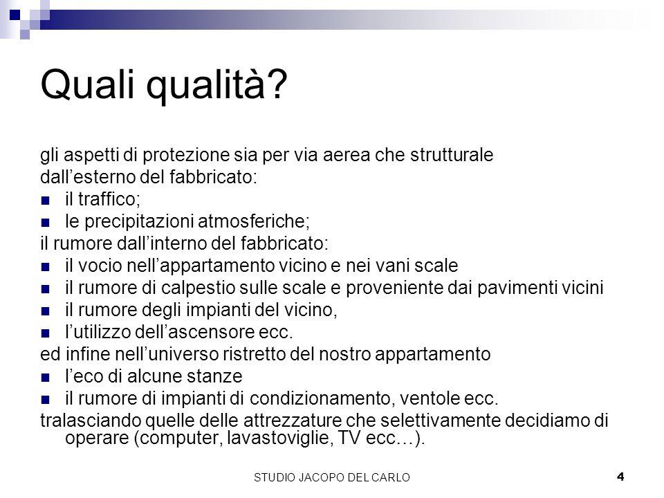 STUDIO JACOPO DEL CARLO35 I dati di laboratorio e le Linee Guida regione Toscana.