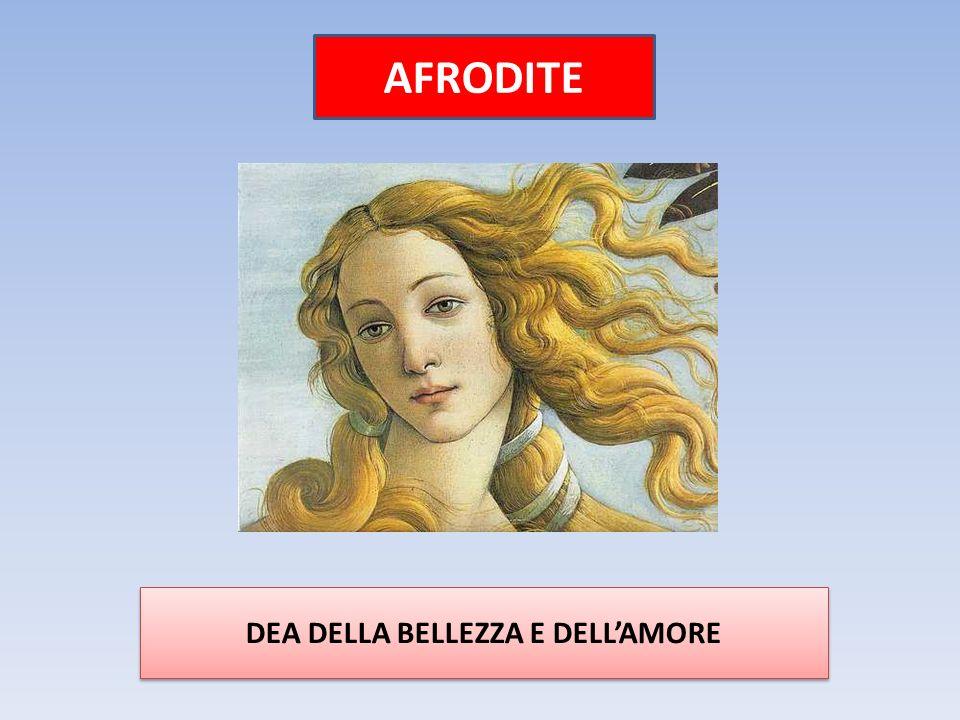 AFRODITE DEA DELLA BELLEZZA E DELL'AMORE