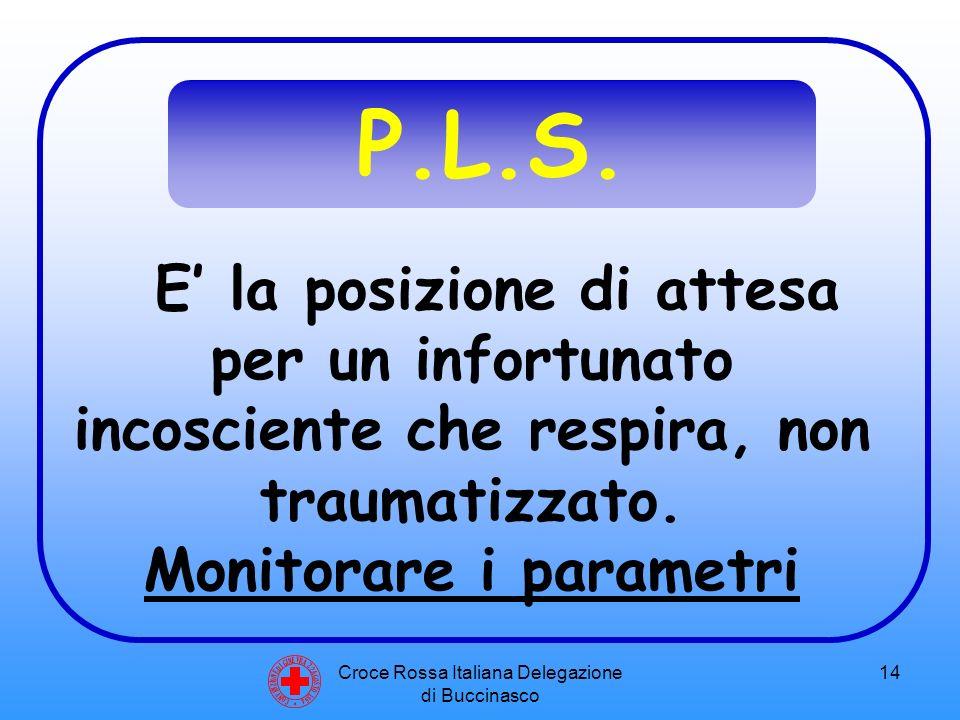 Croce Rossa Italiana Delegazione di Buccinasco 14 C O N V E N Z I O N E D I G I N E V R A 2 2 A G O S T O 1 8 6 4 P.L.S.