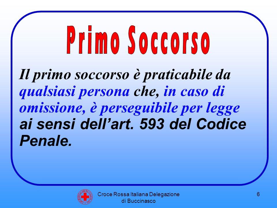 Croce Rossa Italiana Delegazione di Buccinasco 7 Aspetti legali del Primo Soccorso C O N V E N Z I O N E D I G I N E V R A 2 2 A G O S T O 1 8 6 4