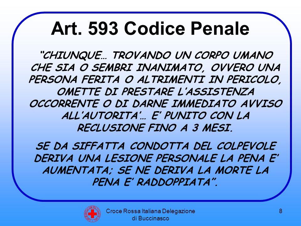 Croce Rossa Italiana Delegazione di Buccinasco 9 Art.