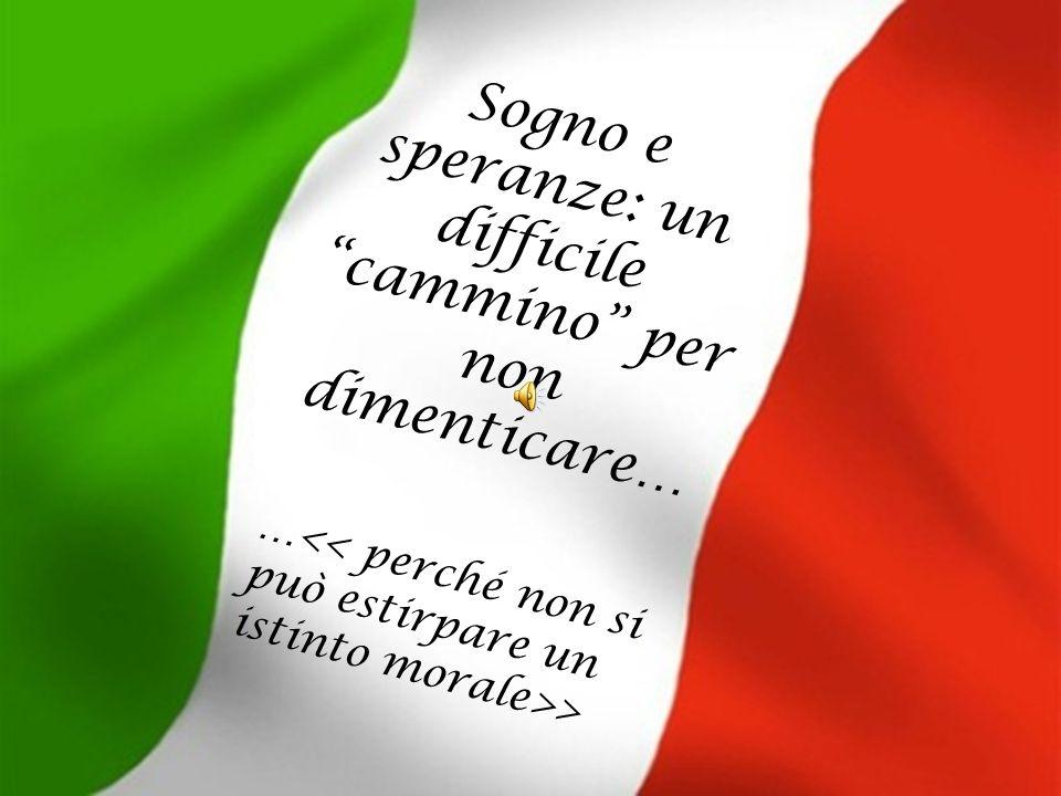 La storia d'amore descritta dal poeta Francesco Dall'Ongaro rappresenta e dà il senso a quello che sarà il simbolo dell'unità: il Tricolore.