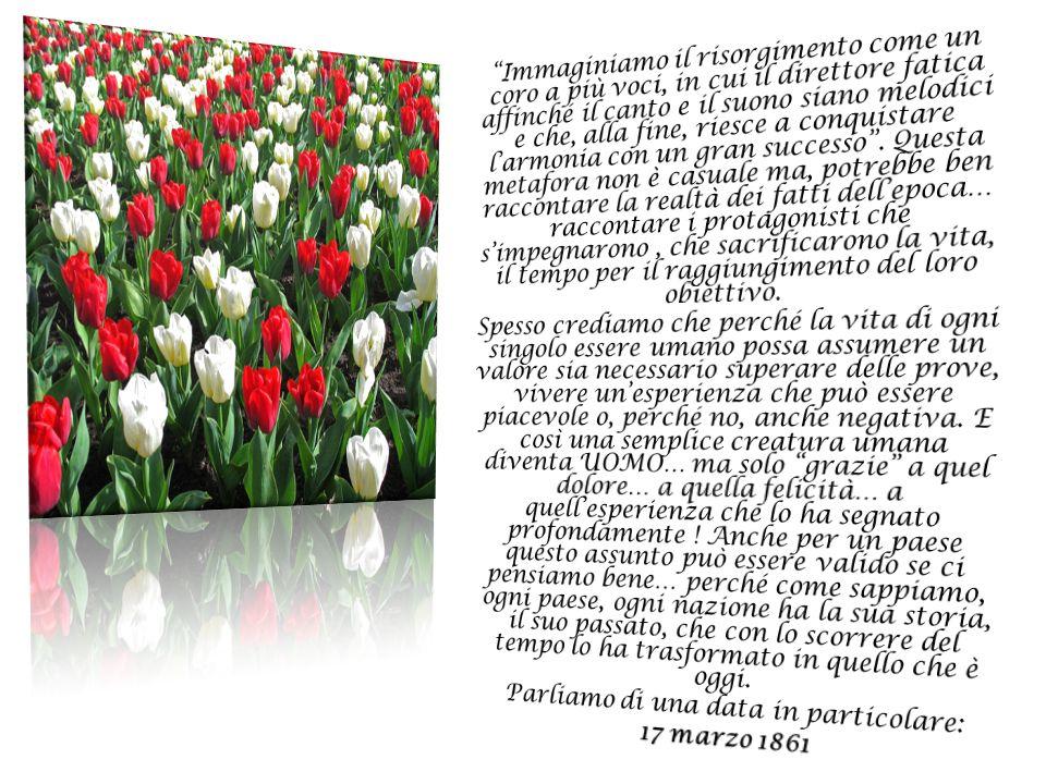 LOTTARE PER UN IDEALE Tre modi diversi di intendere il raggiungimento dell'unità d' Italia: Cavour, Garibaldi, Mazzini