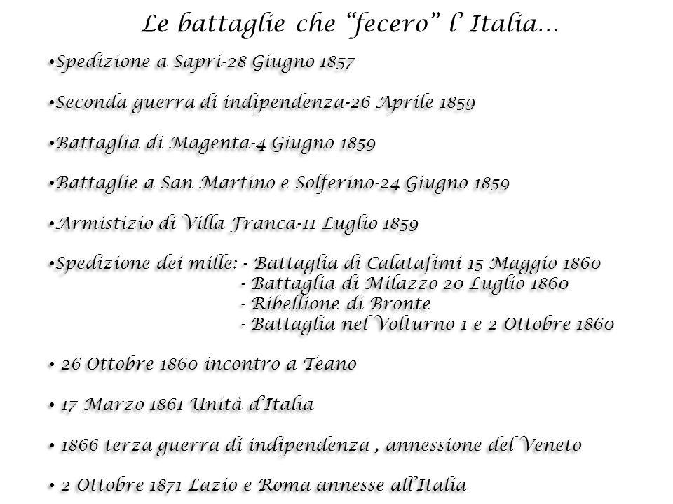 E qual più bello spettacolo può affacciarsi alla mente di un italiano,che la sua patria una, forte, potente, devota a Dio concorde e tranquilla in sé medesima, rispettata e ammirata dai popoli.