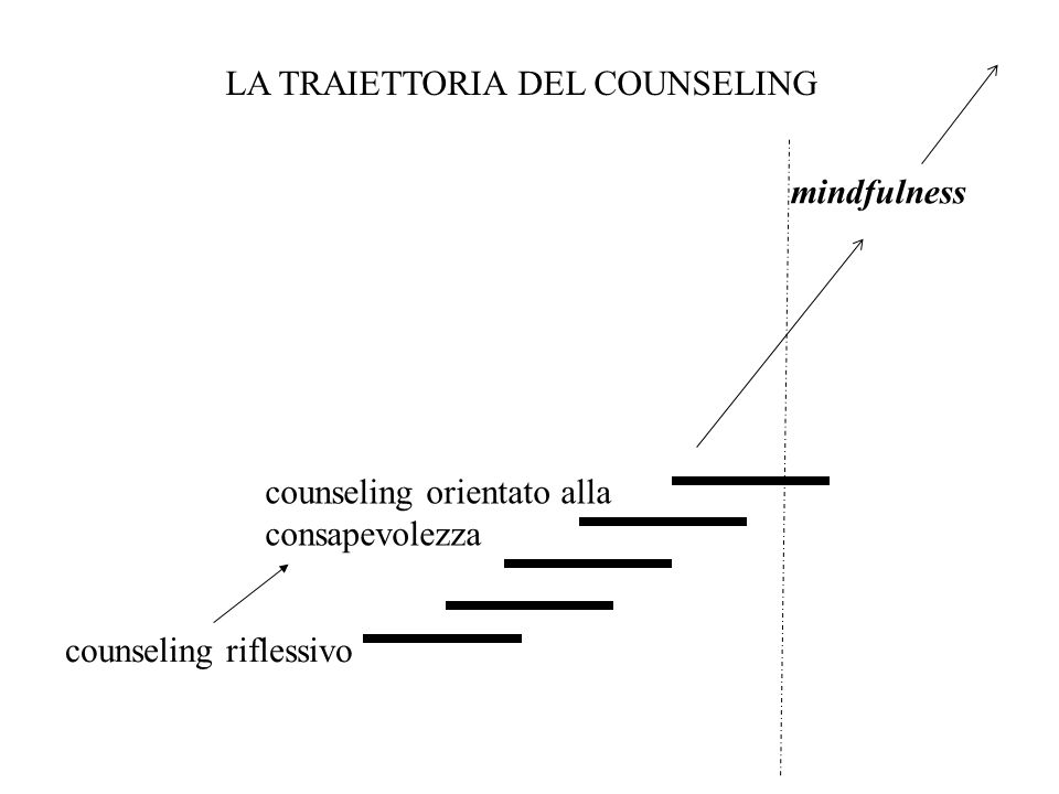 COUNSELING RIFLESSIVO breve (circa dieci incontri) in studio e/o nell'ambito di interventi su committenza (es.