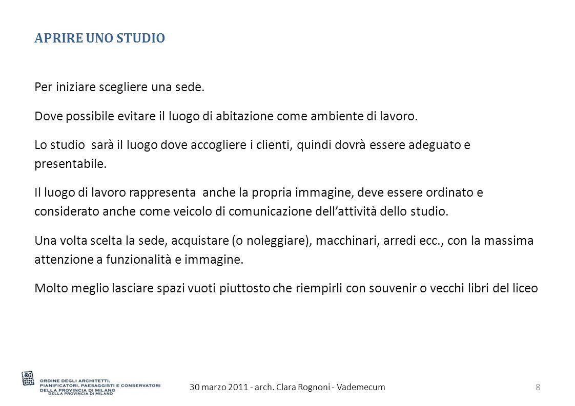 30 marzo 2011 - arch. Clara Rognoni - Vademecum39