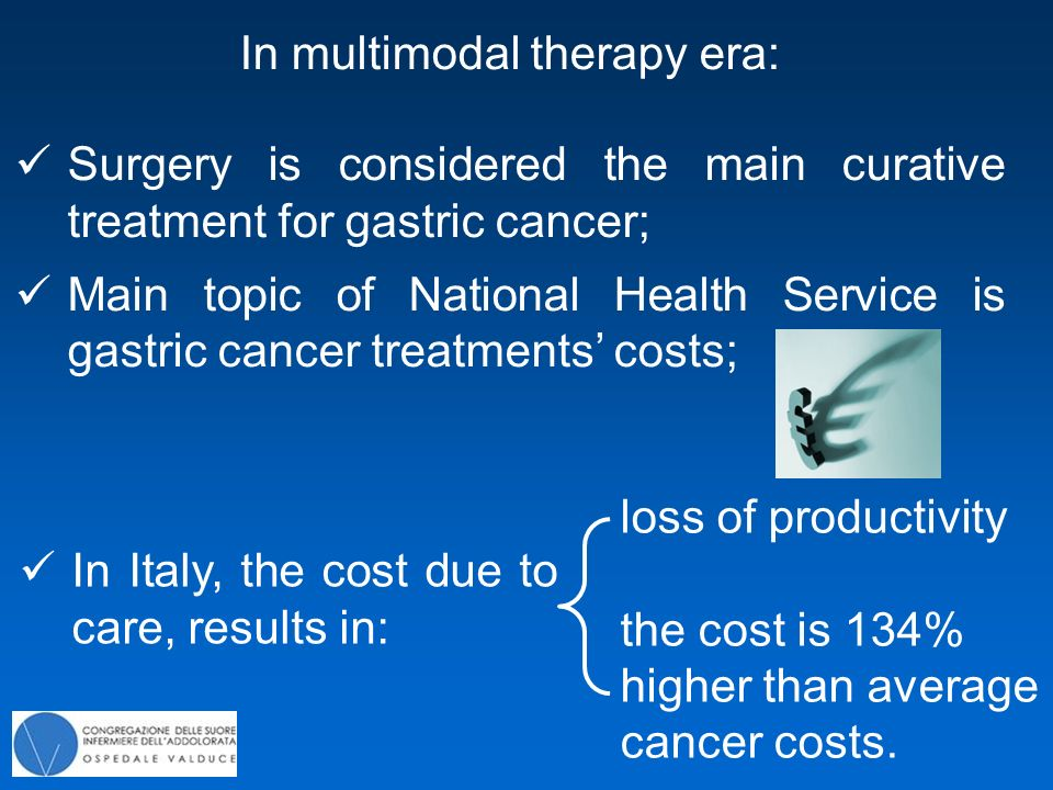 National Cancer Plan intends to: reduce migration of the health care; better utilize the available resources National Health Service reduce loss of productivity