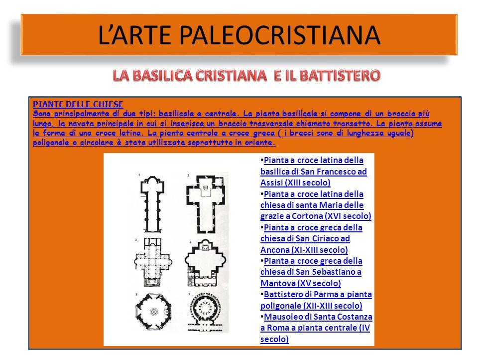 Pianta a croce latina della basilica di San Francesco ad Assisi (XIII secolo) Pianta a croce latina della basilica di San Francesco ad Assisi (XIII se