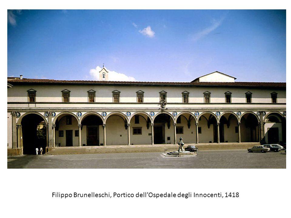 Filippo Brunelleschi, Portico dell'Ospedale degli Innocenti, 1418