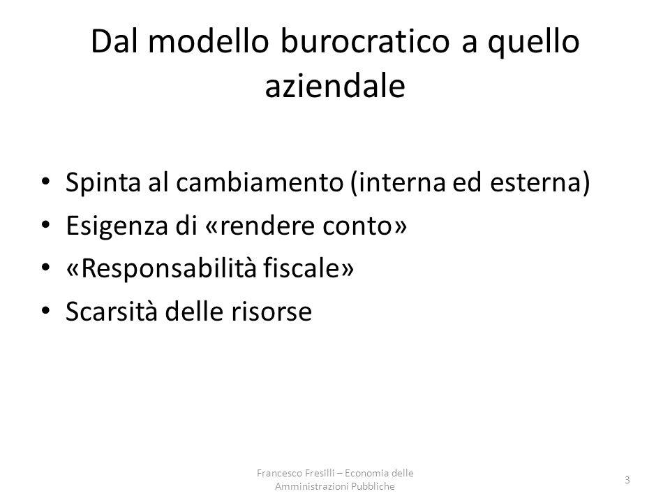 Indicatori di economicità nell'az.pubb.