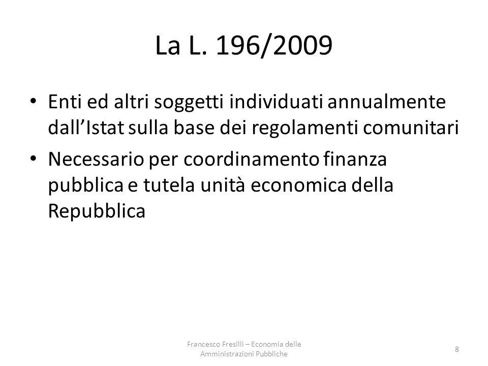 Esempi Allocativa: alto utilizzo di fattori, incluso quello umano Gestionale: risorse allocate senza analisi comparata e preventiva Economica : effetti economici di sistema (ad es.