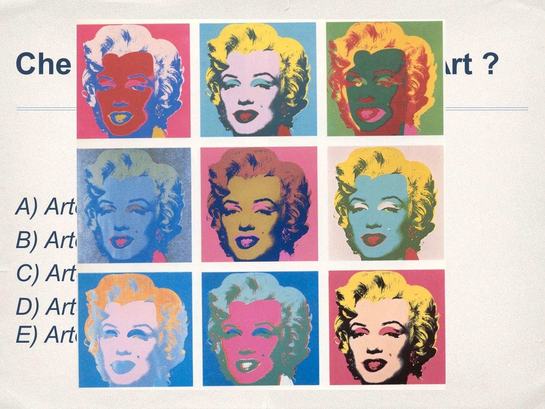 Che cosa si intende per Pop Art .