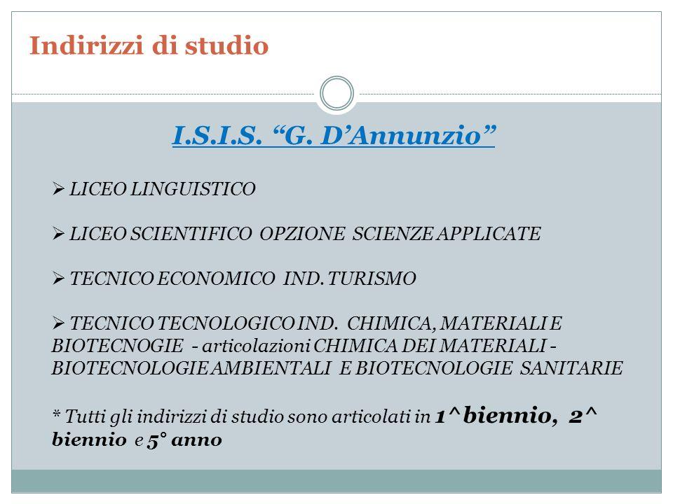Indirizzi di studio Liceo Artistico M.