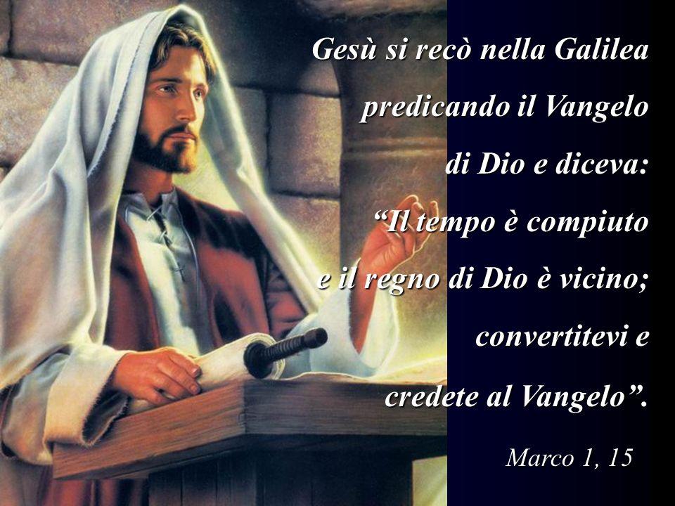 TERZO MISTERO: Gesù annunzia il regno di Dio