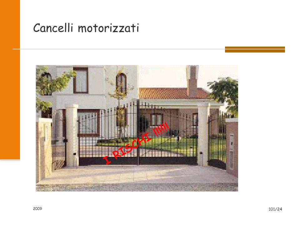 Cancelli motorizzati 2009 101/24