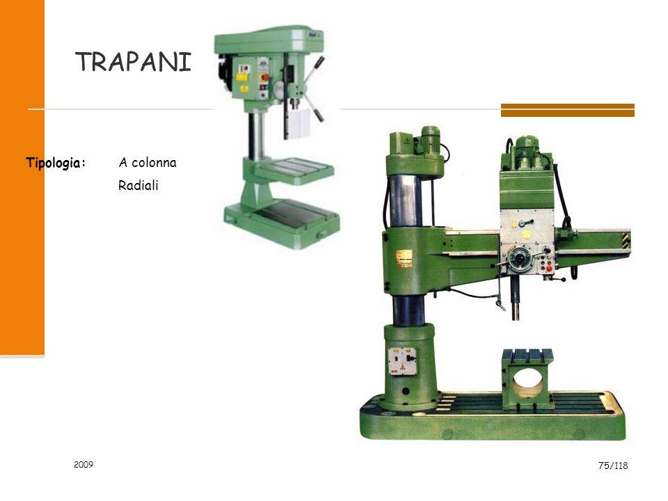2009 75/118 TRAPANI Tipologia:A colonna Radiali