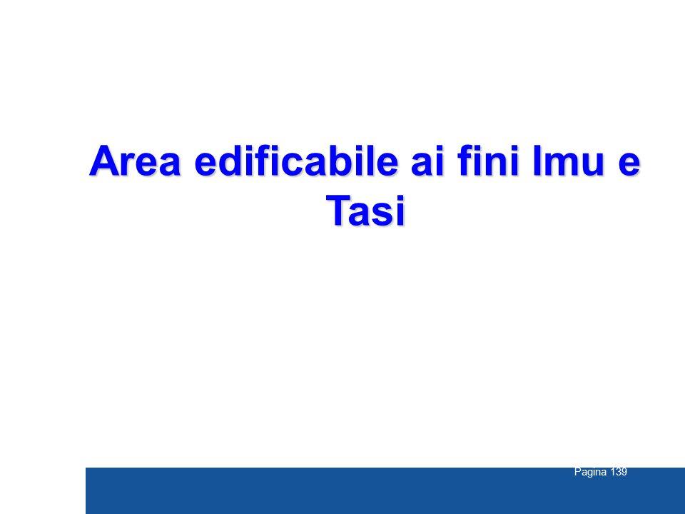 Pagina 139 Area edificabile ai fini Imu e Tasi