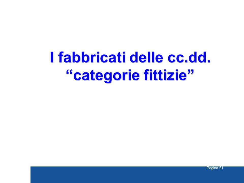 """Pagina 61 I fabbricati delle cc.dd. """"categorie fittizie"""""""