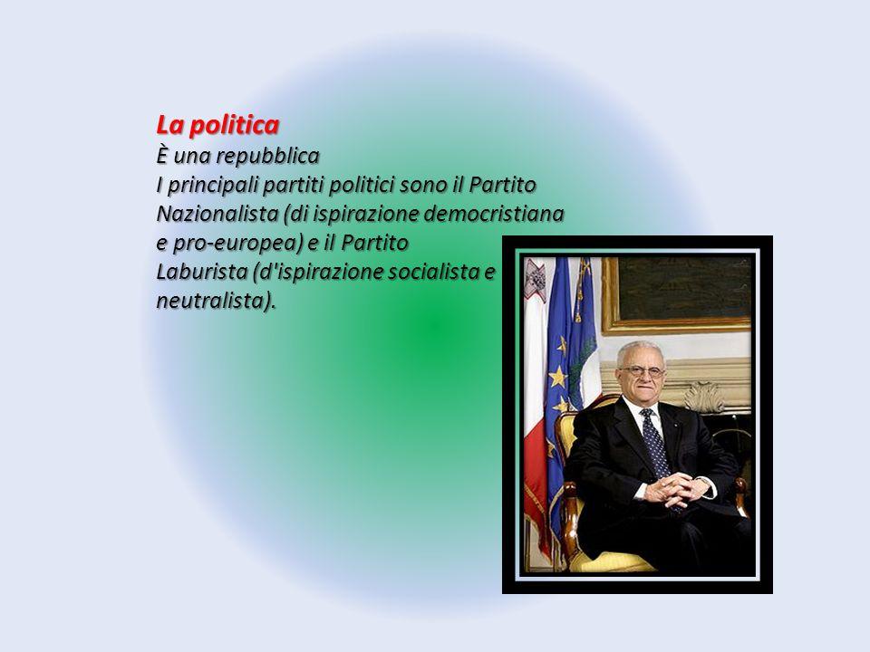 La politica È una repubblica I principali partiti politici sono il Partito Nazionalista (di ispirazione democristiana e pro-europea) e il Partito Labu
