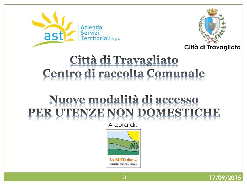 17/09/2015 34 Il formulario di identificazione è un documento che accompagna e identifica i rifiuti durante il trasporto.