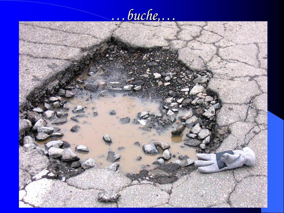 Le nostre strade… sono colme di… …rialzi…