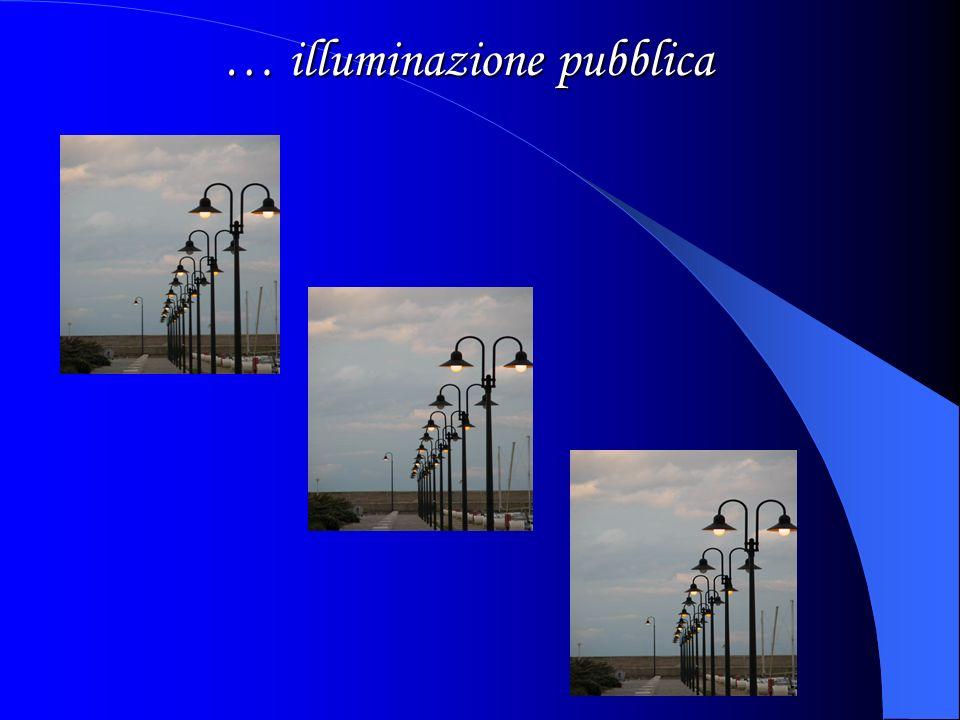 … illuminazione pubblica