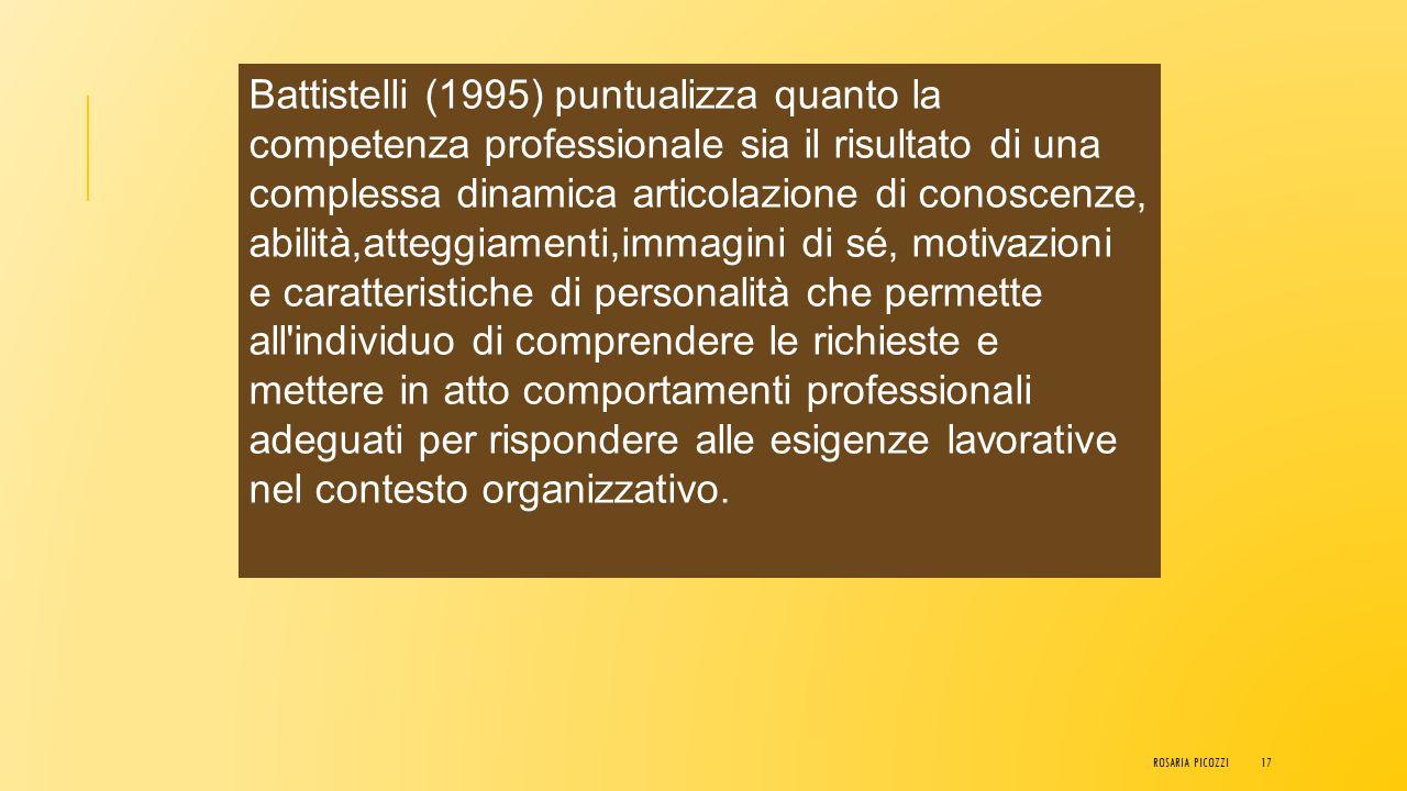 """Guy Le Boterf ritiene la competenza """"Un insieme, riconosciuto e provato, delle rappresentazioni, conoscenze, capacità e comportamenti mobilizzati e co"""