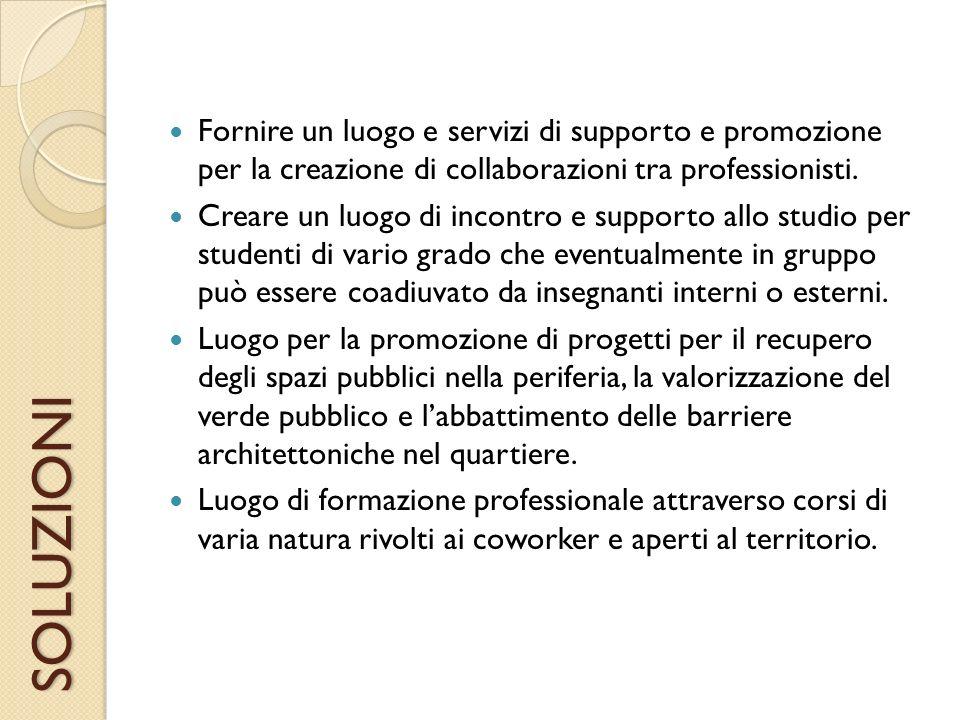 MERCATO Liberi Professionisti Possessori di Partite IVA Freelance Microimprese Studenti Disabili Cittadini Enti pubblici (municipi)