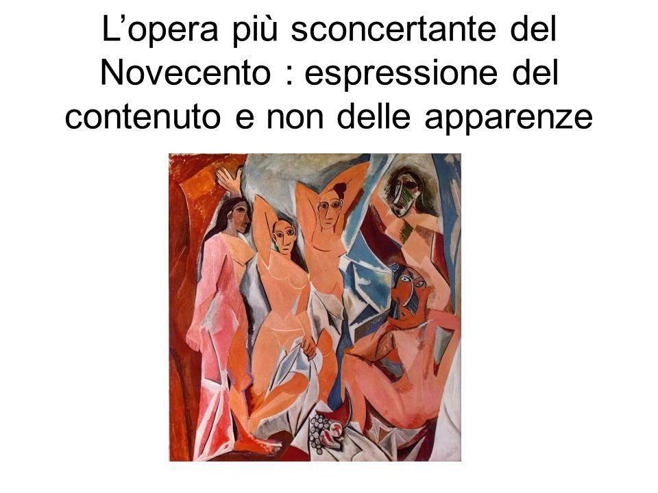 L'opera più sconcertante del Novecento : espressione del contenuto e non delle apparenze