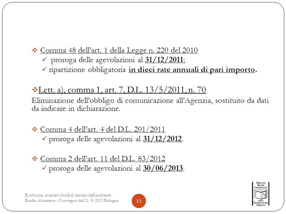  Comma 48 dell'art. 1 della Legge n.