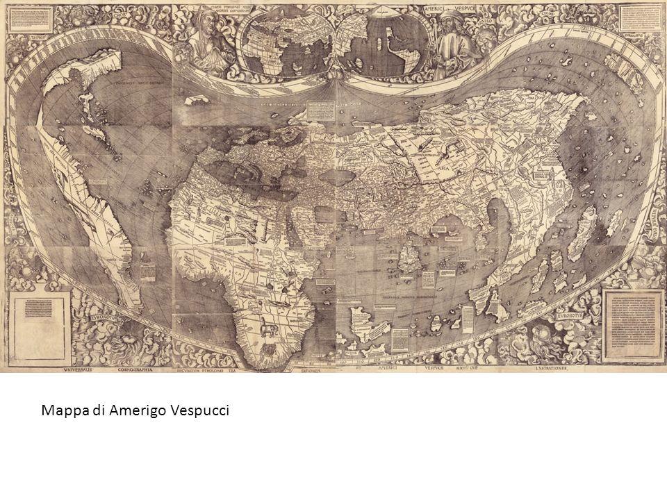 Mappa di Amerigo Vespucci