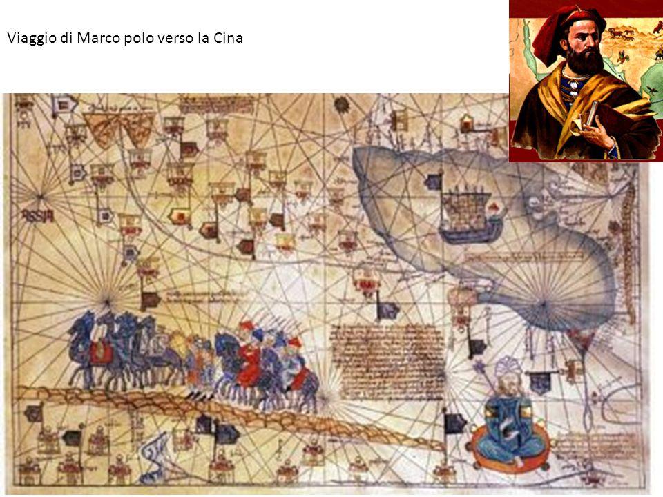 Viaggio di Marco polo verso la Cina