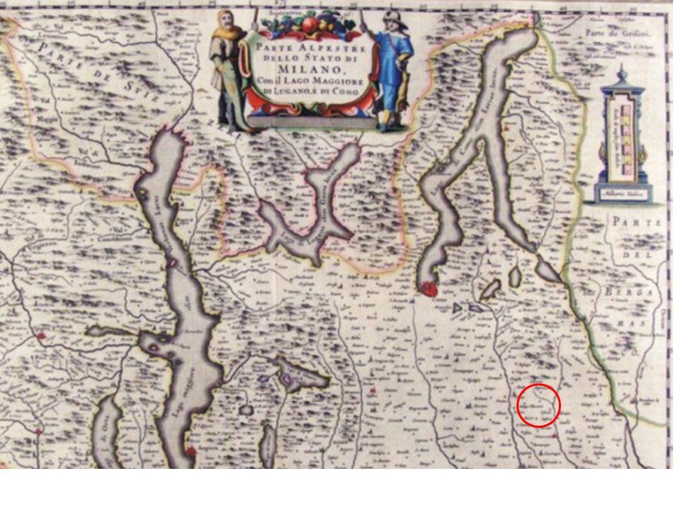 Questa è invece una mappa (disegno) di Verderio nel 1799 della battaglia che qui si svolse il 28 aprile tra gli austriaci ed i francesi.