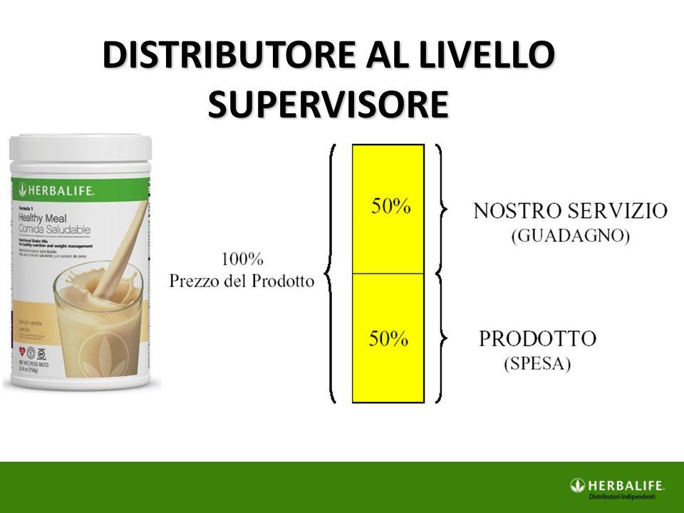 DISTRIBUTORE AL LIVELLO SUPERVISORE