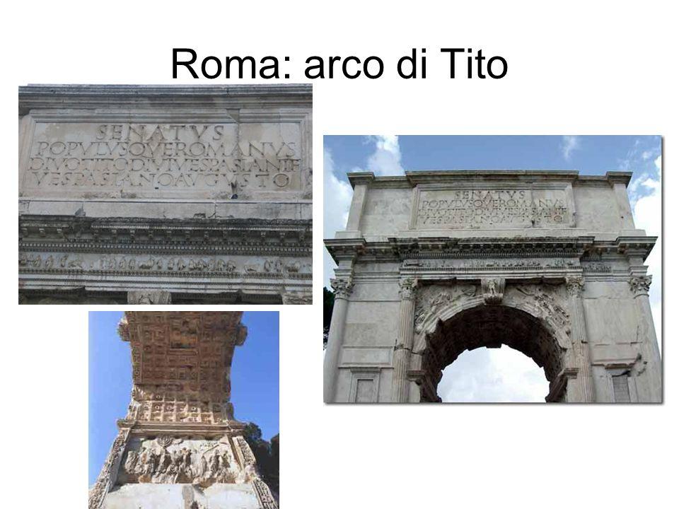 Roma: arco di Tito