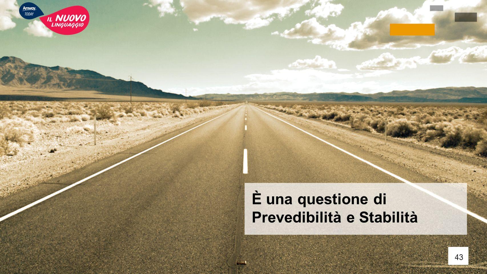 È una questione di Prevedibilità e Stabilità 43