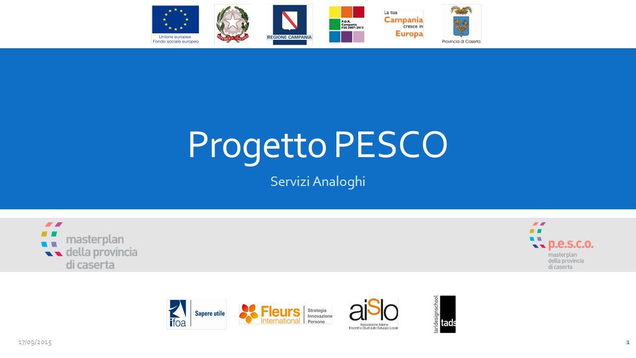 Progetto PESCO Servizi Analoghi 17/09/2015 1