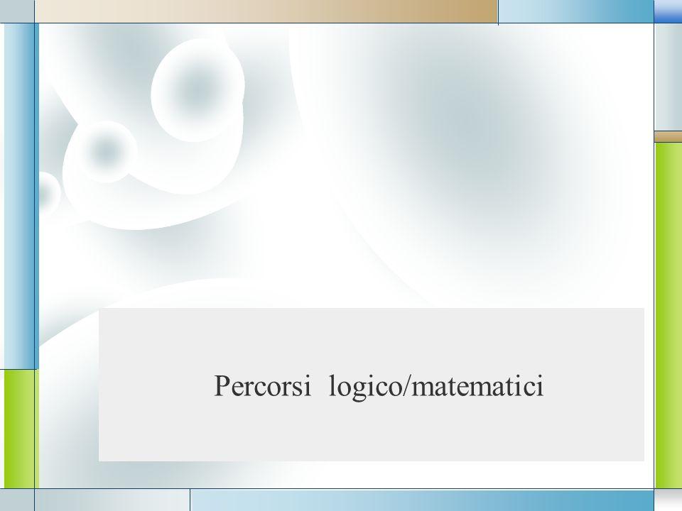 LOGO Percorsi logico/matematici
