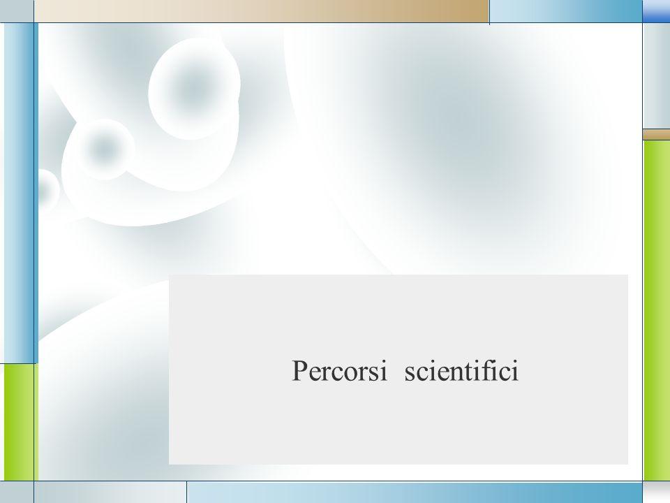 LOGO Percorsi scientifici
