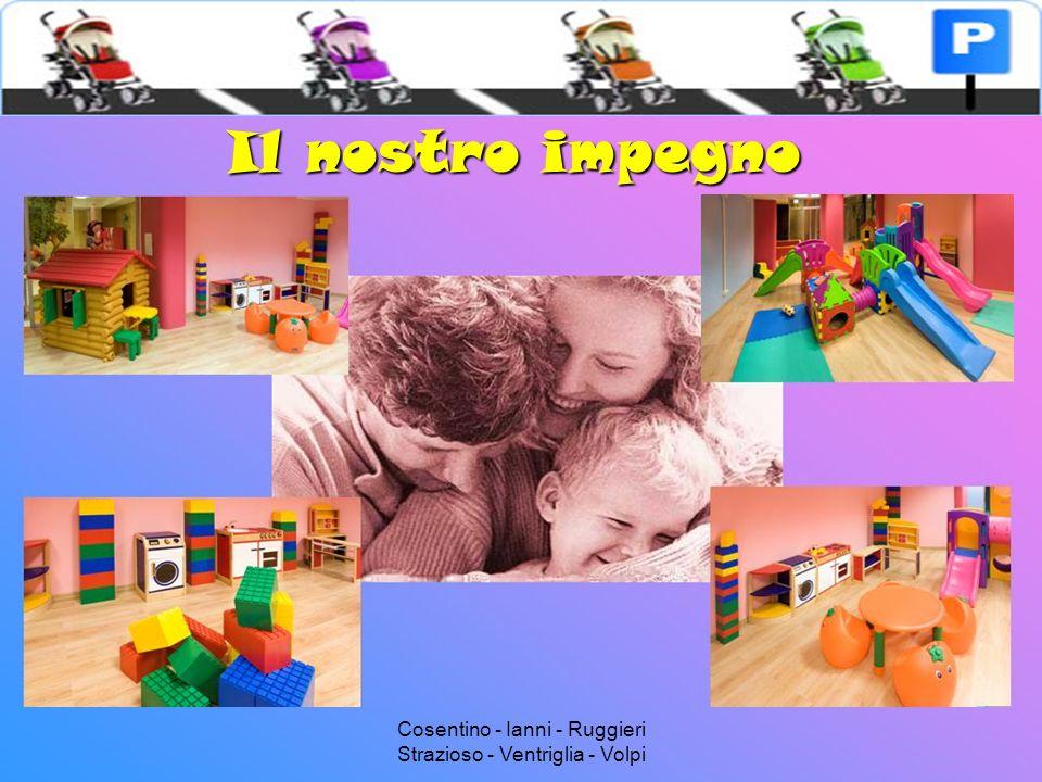 Cosentino - Ianni - Ruggieri Strazioso - Ventriglia - Volpi Vision Le attività creative, educative, formative per i piccoli si fondono nella quotidianità del lavoro dei grandi