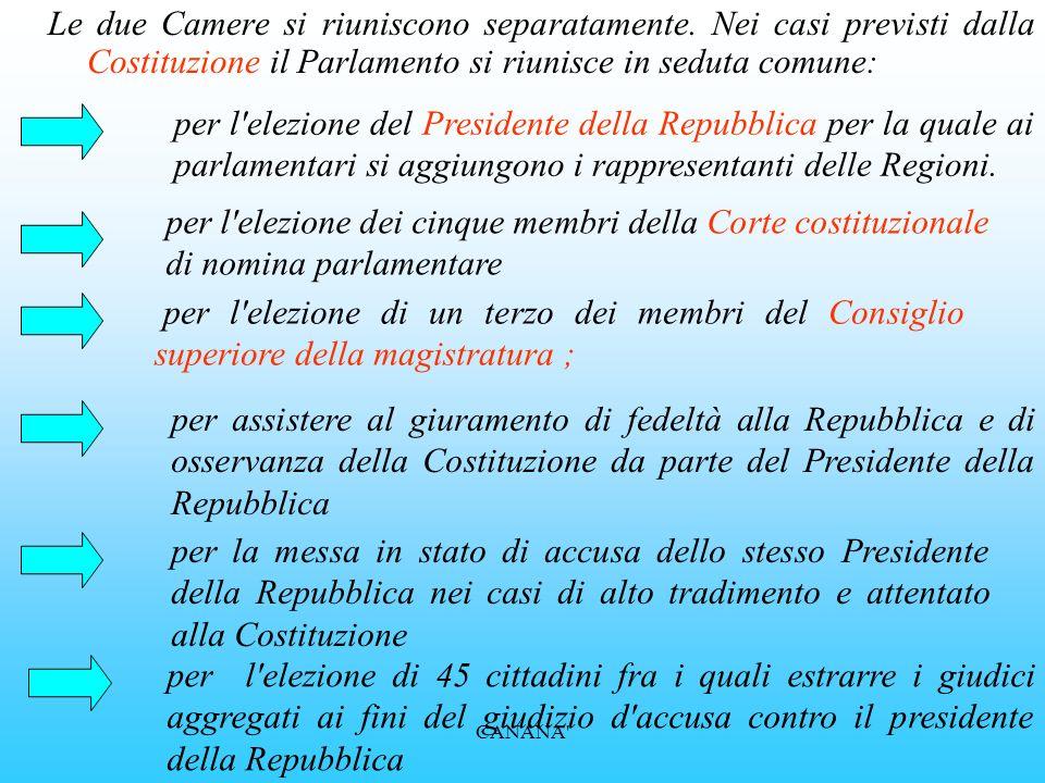 il Senato della Repubblica E' composto da 315 senatori cui vanno aggiunti i senatori a vita (ossia, salvo rinuncia, gli ex Presidenti della Repubblica
