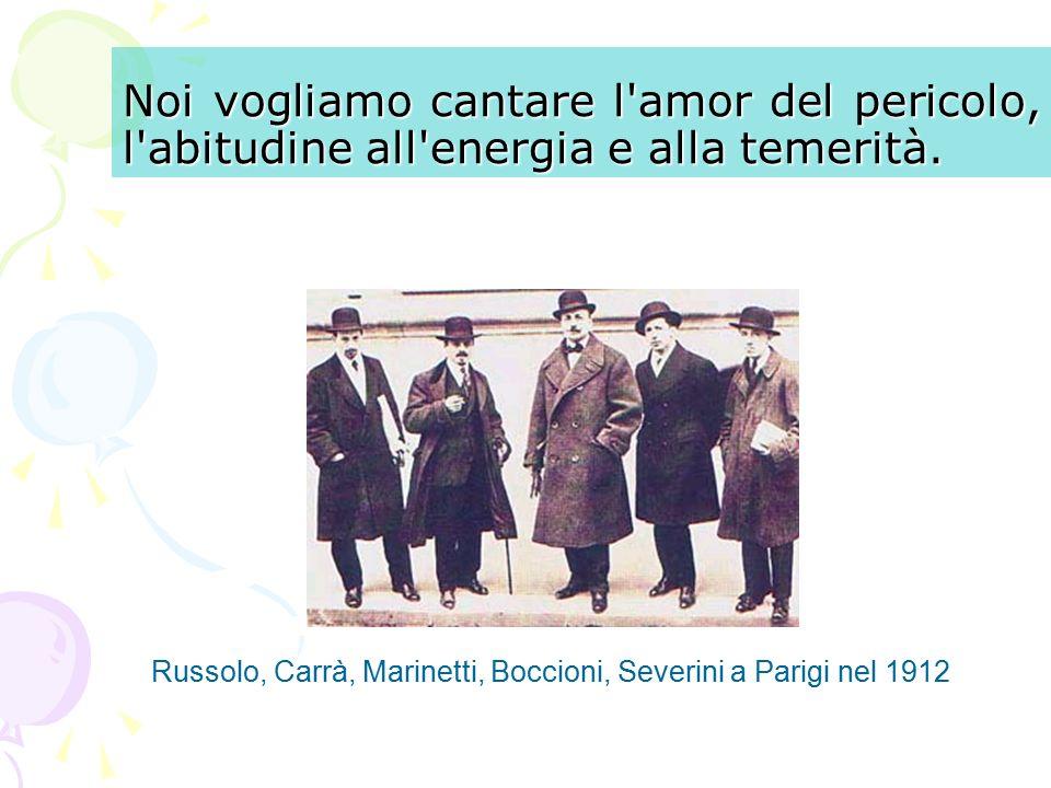 LA ROTTURA CON IL PASSATO Il futurismo è un ' avanguardia storica di matrice totalmente italiana.