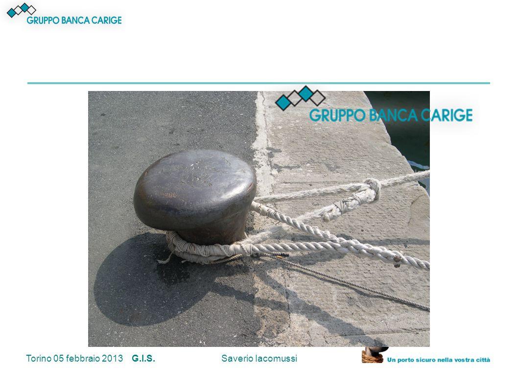 Torino 05 febbraio 2013 G.I.S.Saverio Iacomussi Domande.