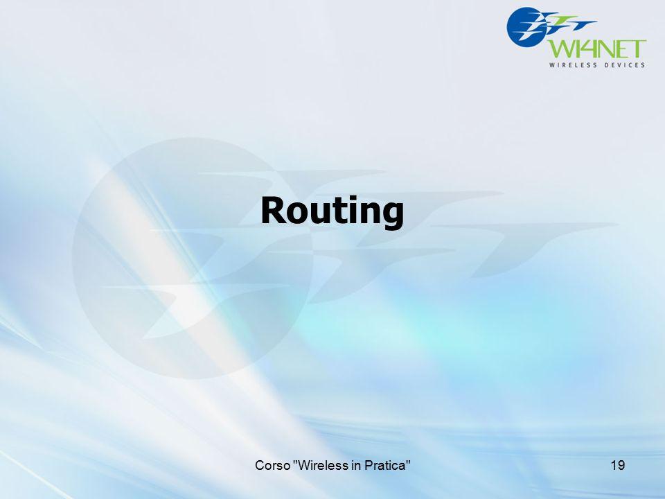 Routing Corso