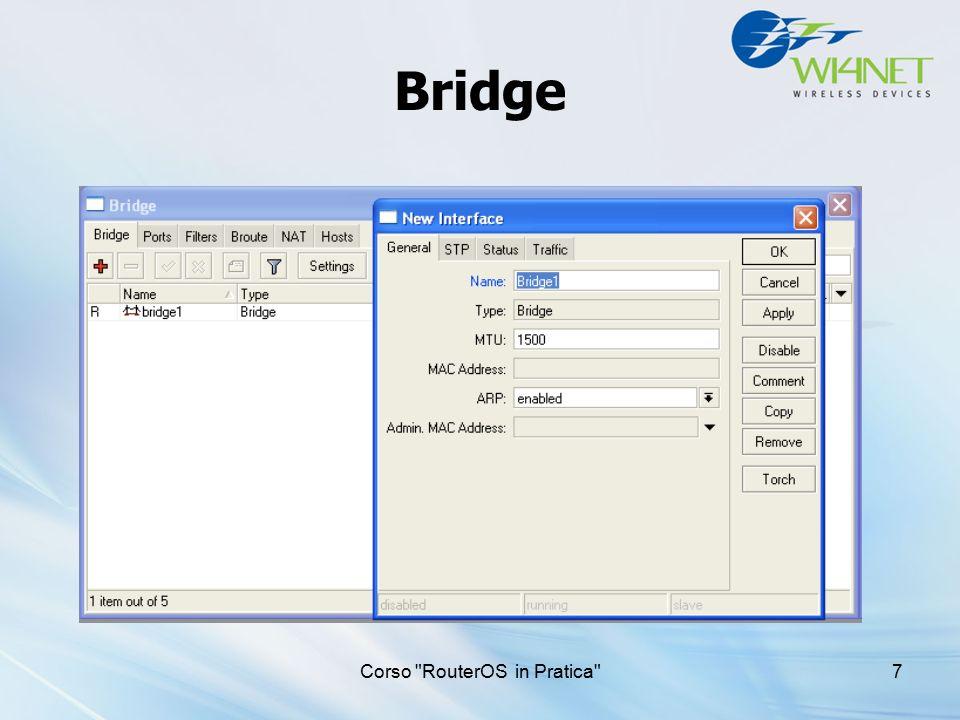 Corso Wireless in Pratica 38 DHCP Server Setup Premere DHCP setup